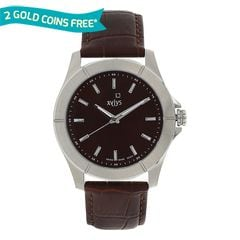 Xylys Sports Maroon Dial Analog Watch For Men-NE9457SL03