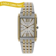 Xylys Silver-White Dial Multifunction Analog Watch for Men-NE9458BM01