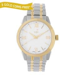 Xylys Silver-White Dial Analog Watch for Men-NE9461BM01
