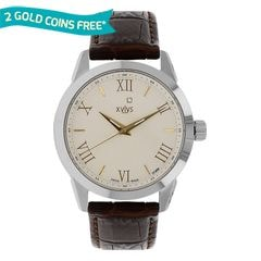 Xylys Silver-White Dial Analog Watch for Men-NE9461SL01
