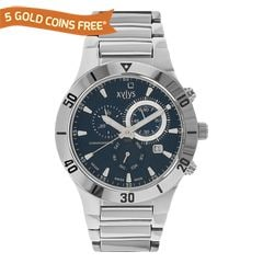 Xylys Blue Dial Luminous Watch for Women