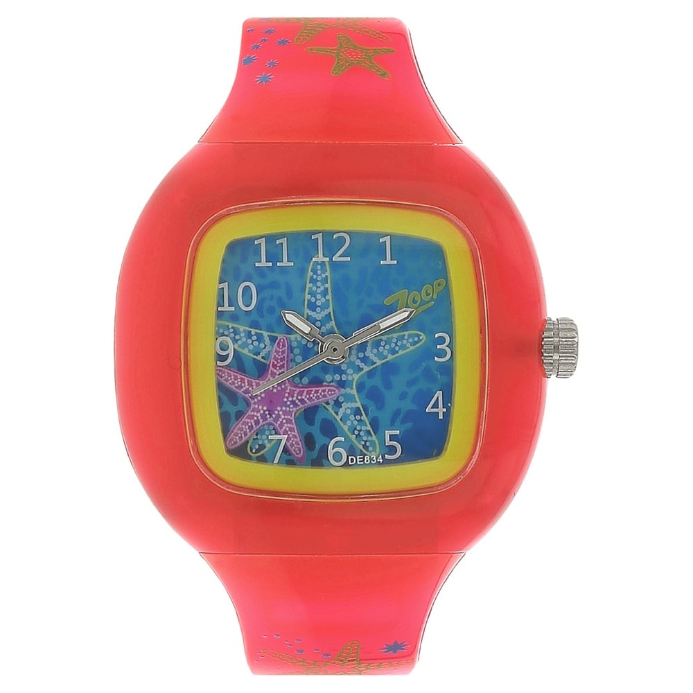 Zoop Analog Blue Watch for Girls ID NE26004PP01CJ Buy Online @ Titan