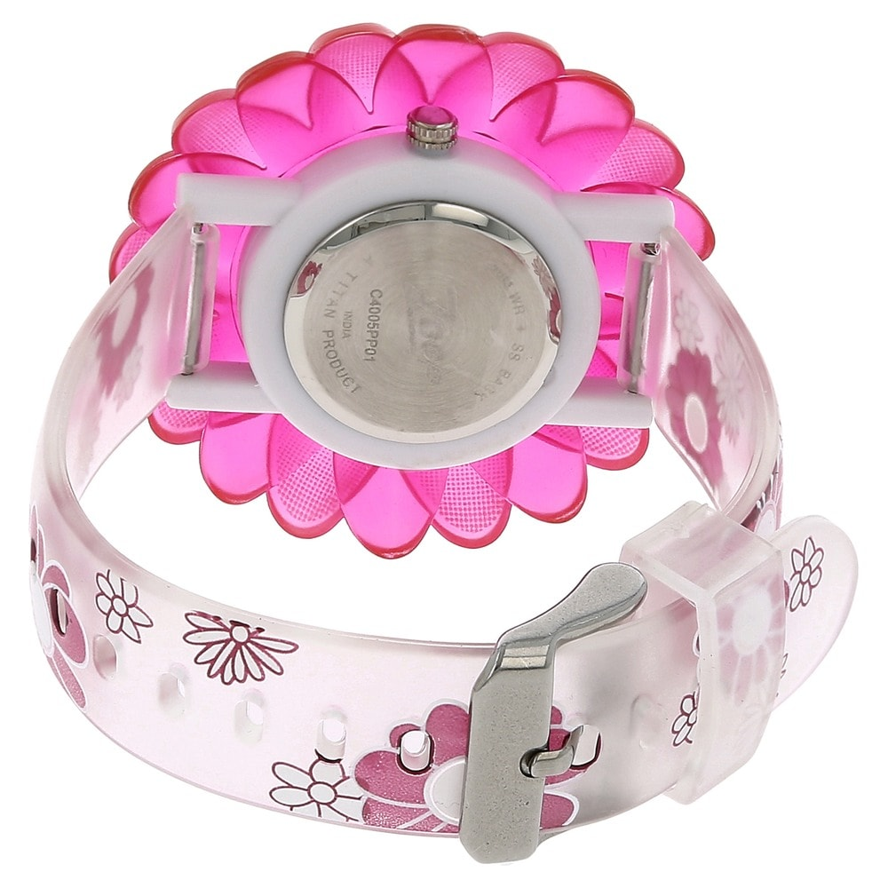 zoop analog silversilver variations watch for girls id