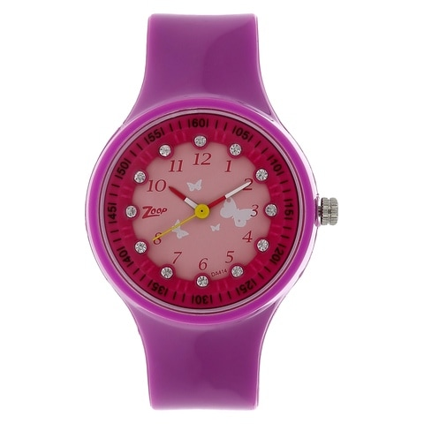 rose pink watches index swatch watch rebel strap dial unisex plastic new