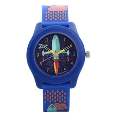Zoop Travel Space Rocket Printed Dial Analog Watch for Kids-16003PP02J
