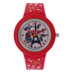 Zoop Travel Eiffel Tower Printed Dial Analog Watch for Kids-26006PP01