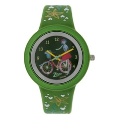 Zoop Travel Bicycle Printed Dial Analog Watch for Kids-26006PP04