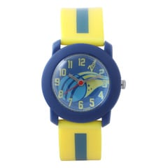Zoop Yellow Analog Unisex Watch for Kids