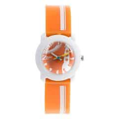 Zoop Orange Dial Analog Watch for Girls