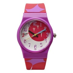 Zoop Multi-Printed Dial Analog Watch for Girls-NDC3028PP08