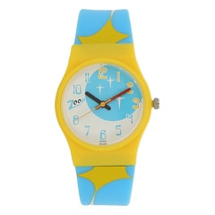Zoop Multi-Printed Dial Analog Watch for Girls-NDC3028PP10