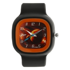 Zoop Saturn Printed Dial Analog Watch for Boys