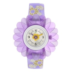 Zoop Lilac Flower Analog Watch for Kids-C4005PP02J