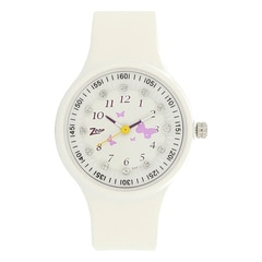 Zoop Printed Dial Analog Watch for Girls-NDC438PP2