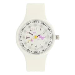 Zoop Printed Dial Analog Watch for Girls-NDC438PP2