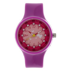 Zoop White Dial Analog Watch for Kids-NDC4038PP03