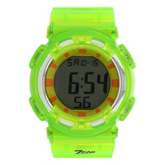 Green Strap Digital Watch