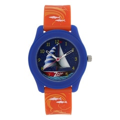 Zoop Travel Blue Dial Analog Watch for Kids