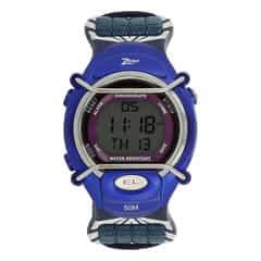Zoop Blue Digital Unisex Watch for Kids