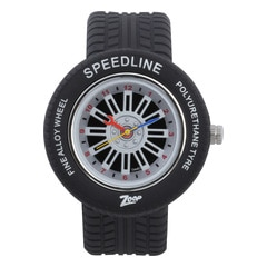 Zoop Printed Dial Analog Watch for Girls