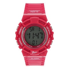 Zoop Red Digital Watch for Unisex