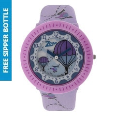 Zoop Purple Dial Analog Watch for Girls