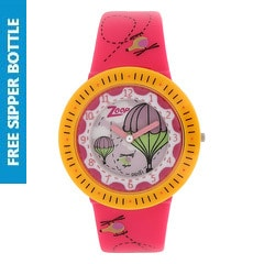 Zoop Green Dial Analog Watch for Girls