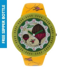 Zoop Red Dial Analog Watch for Girls