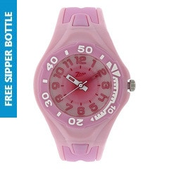 Zoop Pink Dial Analog Watch for Kids