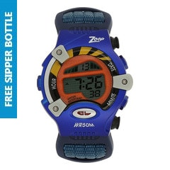 Zoop Grey Dial Digital Watch for Kids - NEC3002PV02J