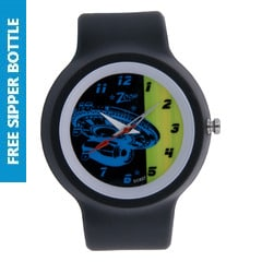 Zoop Spaceship Printed Dial Analog Watch for Kids-NDC329PP7